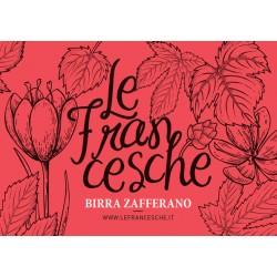 Birra Le Francesche Zafferano