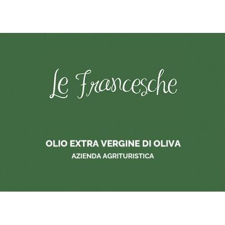 Olio extra vergine di oliva Le Francesche