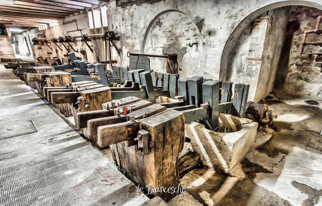 La produzione della carta a Fabriano: cartiera a Nocera Umbra